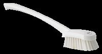 Vikan Hygiene 4182-5 afwasborstel lange steel wit medium vezels 415mm