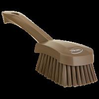 Vikan Hygiene 4192-66 afwasborstel groot bruin harde vezels 270mm