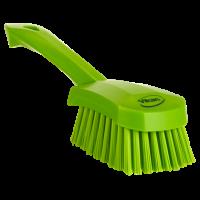 Vikan Hygiene 4192-77 afwasborstel groot limoen harde vezels 270mm