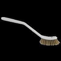 Vikan 42885 kleine grillborstel wit harde hittebestendige vezels 290mm
