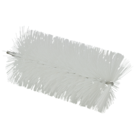 Vikan Hygiene 53915 pijpenborstel wit medium vezels flex. kabel Ø90x200