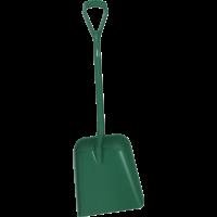 Vikan Hygiene 5623-2 schop D-grip groen steel 104cm groot blad 38x35cm