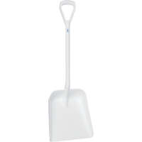 Vikan Hygiene 5623-5 schop D-grip wit steel 104cm groot blad 38x35cm