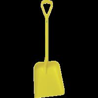 Vikan Hygiene 5623-6 schop D-grip geel steel 104cm groot blad 38x35cm