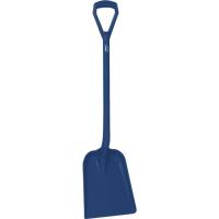 Vikan Hygiene 562599 schop D-grip detect steel 104cm blad 33x27cm donkerblauw