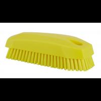 Vikan Hygiene 6440-6 nagelborstel geel harde vezels 130mm
