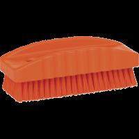 Vikan Hygiene 6440-7 nagelborstel oranje harde vezels 130mm