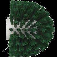 Vikan Hygiene 7035-2 wormhuisborstelkop groen medium vezels ø135x130mm