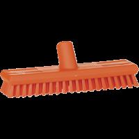 Vikan Hygiene 7041-7 luiwagen oranje extra harde vezels watertoev 270mm