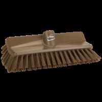Vikan Hygiene 7047-66 hoekschrobber bruin medium vezels 265mm