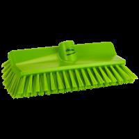 Vikan Hygiene 7047-77 hoekschrobber limoen medium vezels 265mm