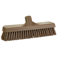 Vikan Hygiene 7060-66 vloerschrobber bruin harde vezels 305mm