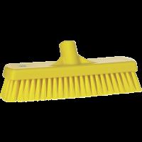 Vikan Hygiene 7060-6 vloerschrobber geel harde vezels 305mm