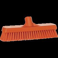 Vikan Hygiene 7060-7 vloerschrobber oranje harde vezels 305mm