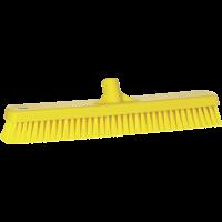 Vikan Hygiene 7062-6 vloerschrobber geel harde vezels 470mm