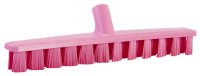 Vikan UST 7064-1 vloerschrobber 40cm roze harde vezels 50x400mm