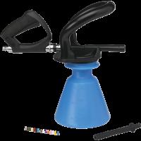 Vikan 93013 Ergo Foam Sprayer 25 liter blauw set incl. pistool en afspuitla