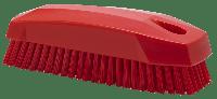 Vikan Hygiene 6440-4 nagelborstel rood harde vezels 130mm