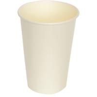 Hot cup-beker Karton/kunststof 180ml 70.3mm wit 25x100 st