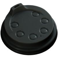 Deksel PS Ø80mm zwart 20x50 st