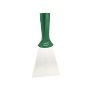 Vikan handschraper/schroefdraad 4011-2 groen breed rvs blad 100x205mm
