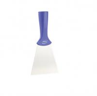 Vikan handschraper/schroefdraad 4011-8 paars breed rvs blad 100x205mm