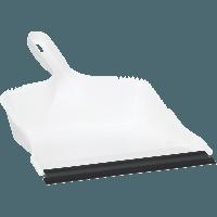 Vikan Classic 5581 stofblik wit kunststof rubber rand 208x317mm