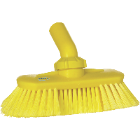 Vikan Hygiene 7067-6 wandborstel geel zachte splitvezels verstelbaar 240mm