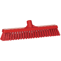 Vikan Hygiene 3174-4 combiveger rood hard/zachte vezels 410mm