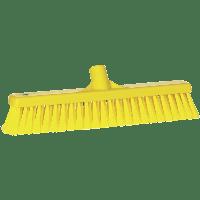 Vikan Hygiene 3178-6 zachte veger geel zachte splitvezels 410mm
