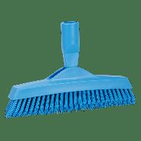 Vikan Hygiene 7040-3 voegenborstel steelmodel extra hard blauw 225mm
