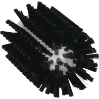 Vikan Hygiene 5380-77-9 pijpenborstel steelmodel zwart medium ø77x155mm