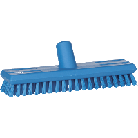Vikan Hygiene 7041-3 luiwagen blauw extra harde vezels watertoev 270mm