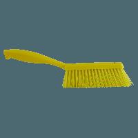 Vikan Hygiene 4589-6 handveger geel medium vezels 330mm