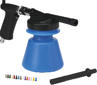 Vikan 93053 Foam Sprayer 14 liter blauw set incl. pistool en afspuitla