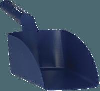 Vikan Hygiene 567599 handschep d.blauw recht medium 1L met.detecteerbaar