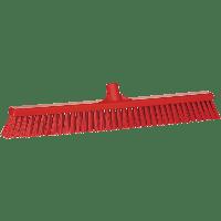 Vikan Hygiene 3194-4 combiveger rood hard/zachte vezels 610mm