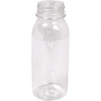 Fles petfles PET zonder dop 250ml transparant 1x210 st