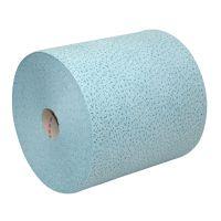 Euro proptex blauw non woven op rol 38 x 30 cm 500 doek p/rol