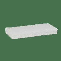 Vikan Hygiene 5525 nylon schuurspons zacht wit 125x245x23mm